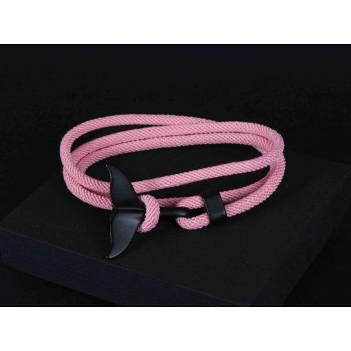Karkötő, bálnás, rózsaszín színben