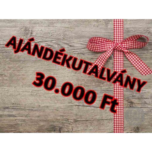 Ajándékutalvány 30.000 Ft